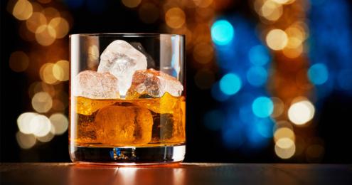 glas whiskey
