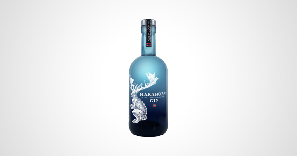 Harahorn Small Batch Gin Bottle