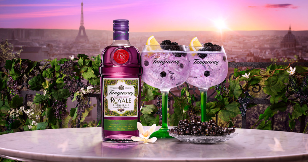 Tanqueray Blackcurrant Royale Mood