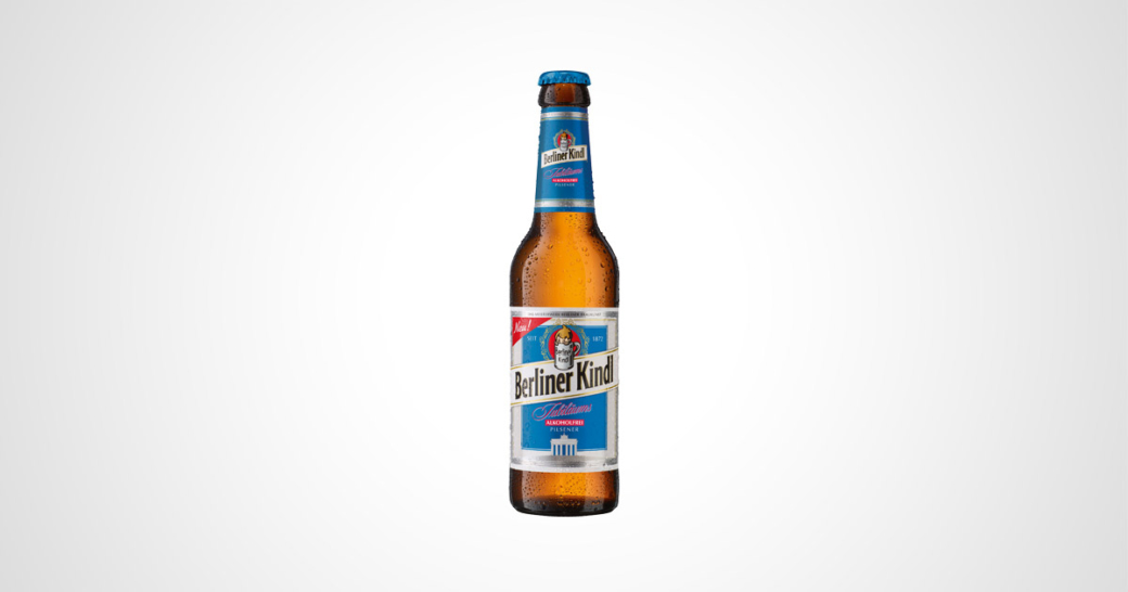 Berliner Kindl Jubiläums Pilsener Alkoholfrei