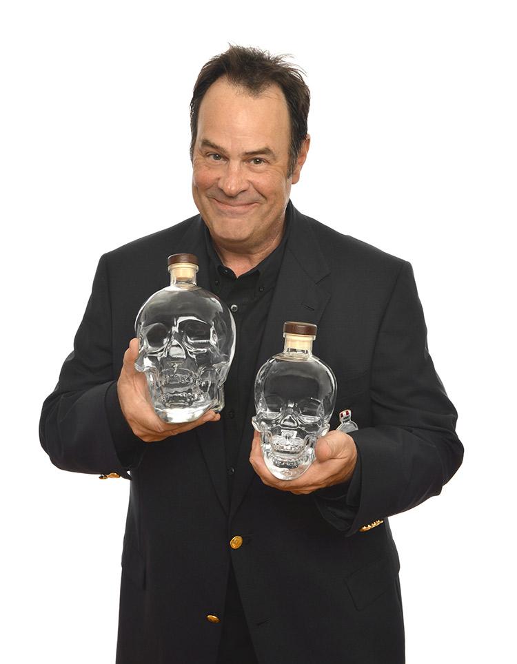 dan aykroyd mit crystal head vodka