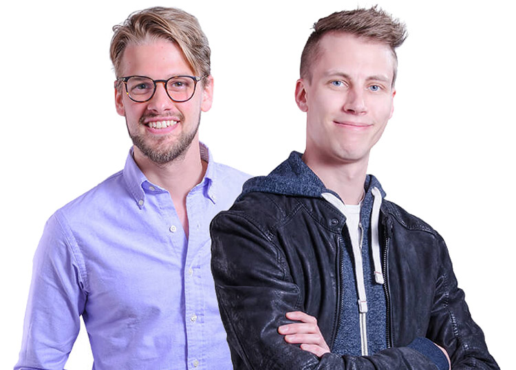 Kevin Piticev und David Schindelböck