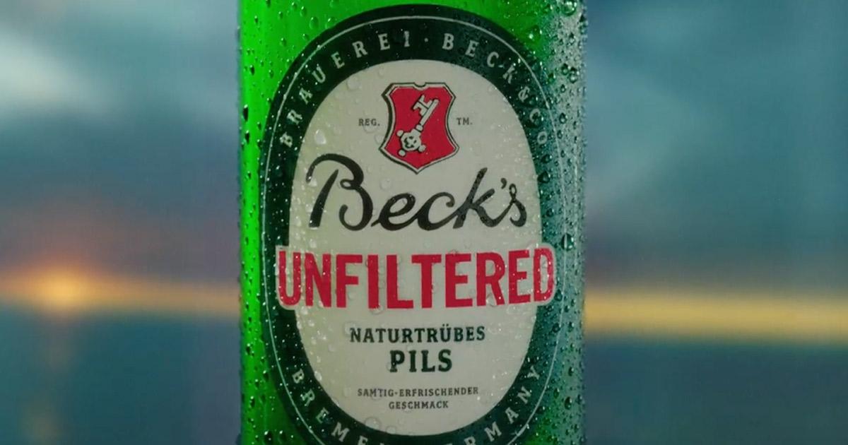 Becks Unfilitered Spot