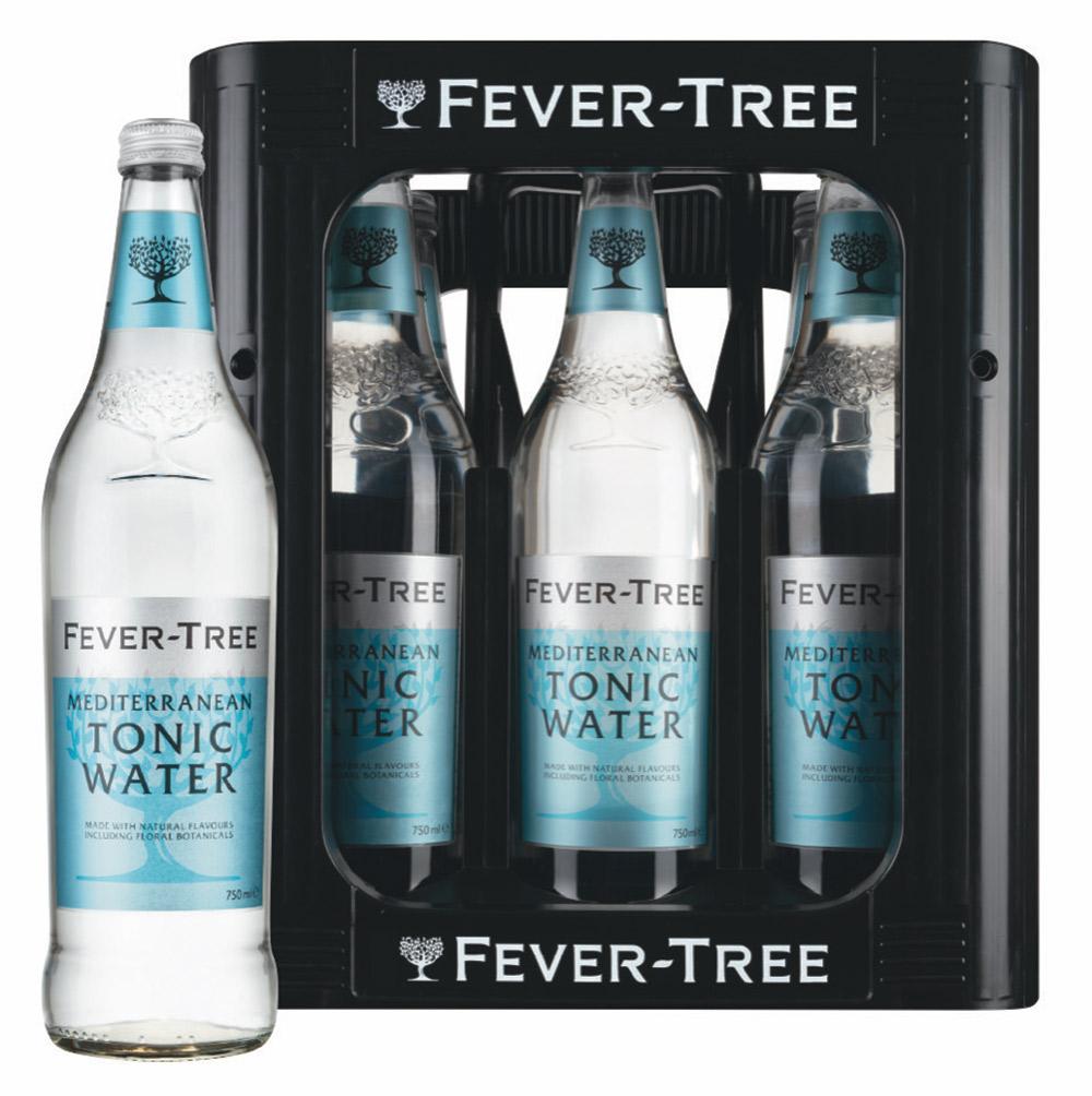 Fever-Tree 750 ml Glasflasche Kasten