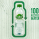 Volvic Recycling Flasche