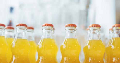 limonaden flaschen