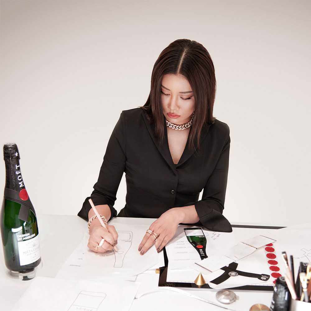 Moet & Chandon AMBUSH Yoon
