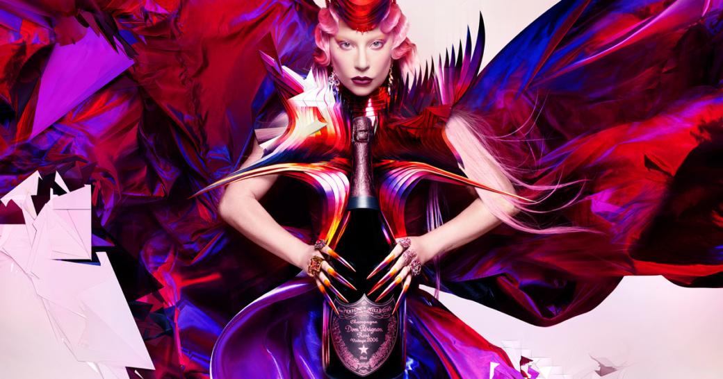Dom Perignon Lady Gaga