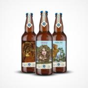 drei exklusive biere für die karlsberg braunacht