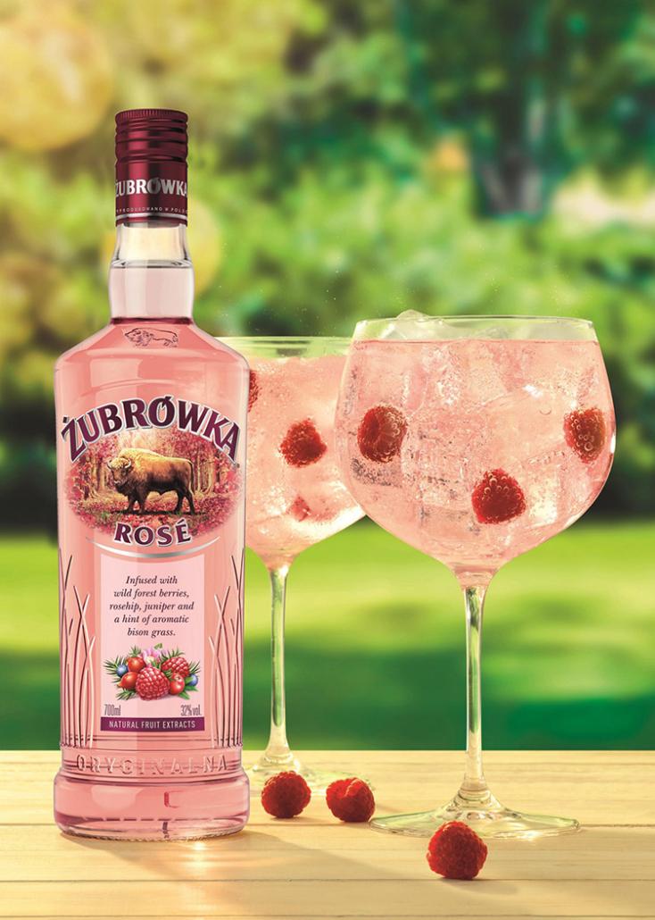 zubrowka vodka rose