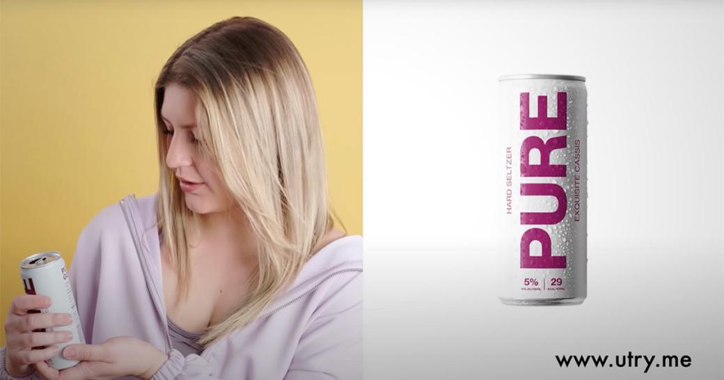 PURE Hard Seltzer TV-Spot