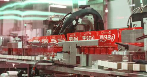 coca cola dosenabfüllanlage