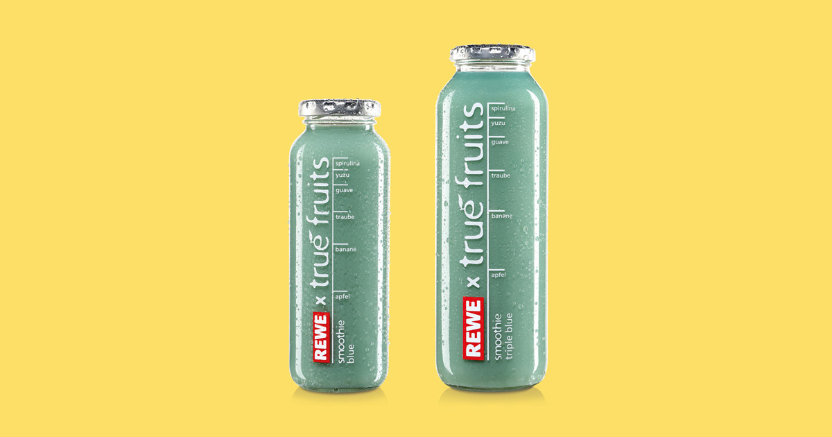 true fruits smoothie blue