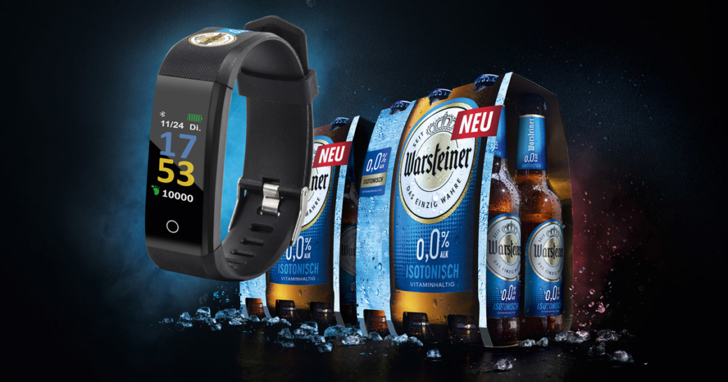 warsteiner fitnesstracker