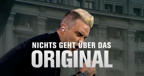 Pilsner Urquell Robbie Williams
