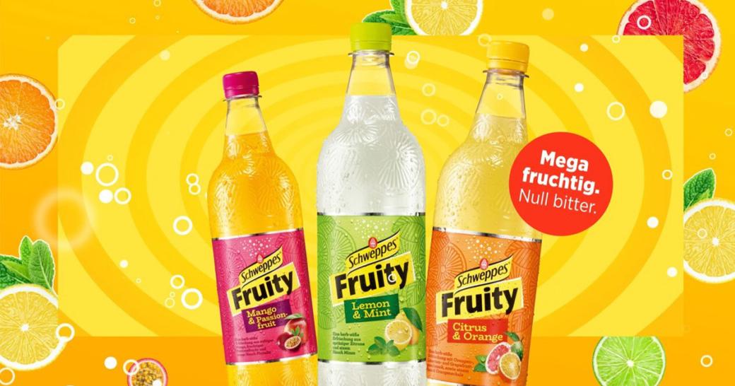 schweppes fruity kampagne