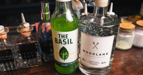soda libre und woodland gin