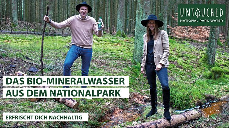 untouched gruenderteam alexander schupp und ulrike sputh im Nationalpark