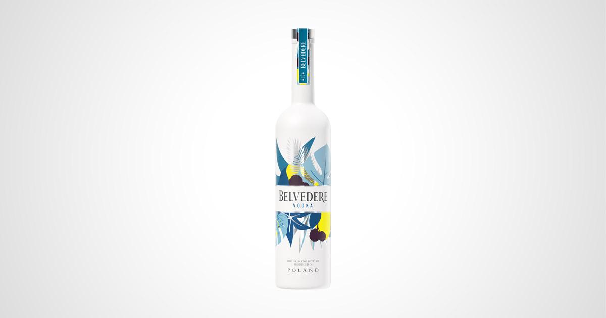 Belvedere Vodka Summer Edition Flasche
