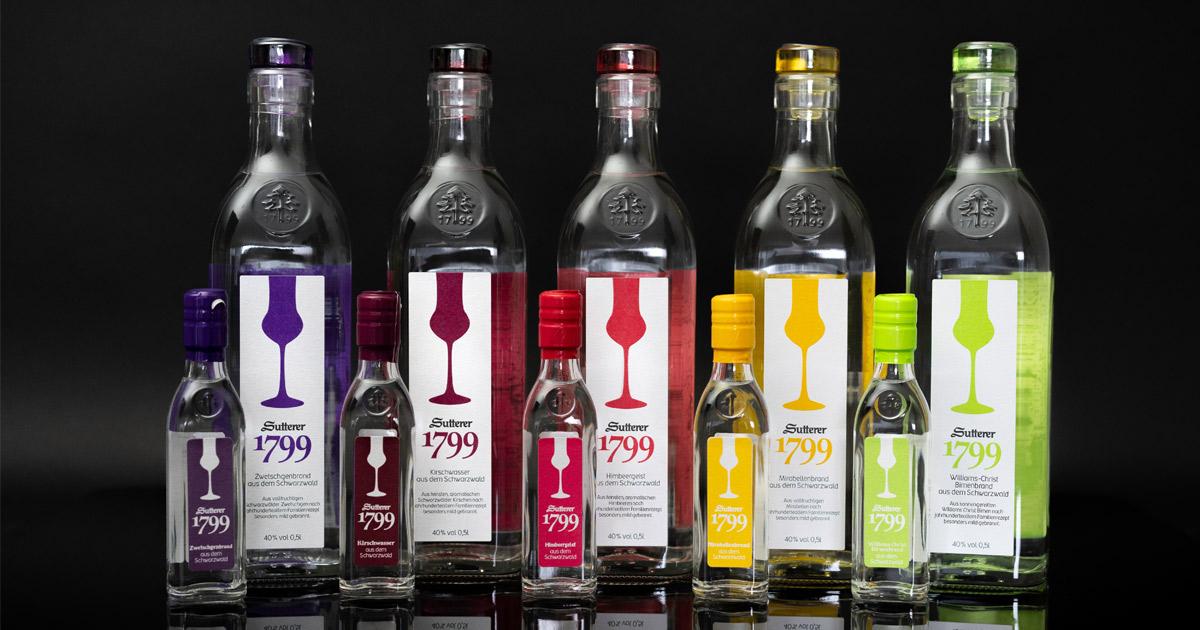 Sutterer 1799 Flaschen
