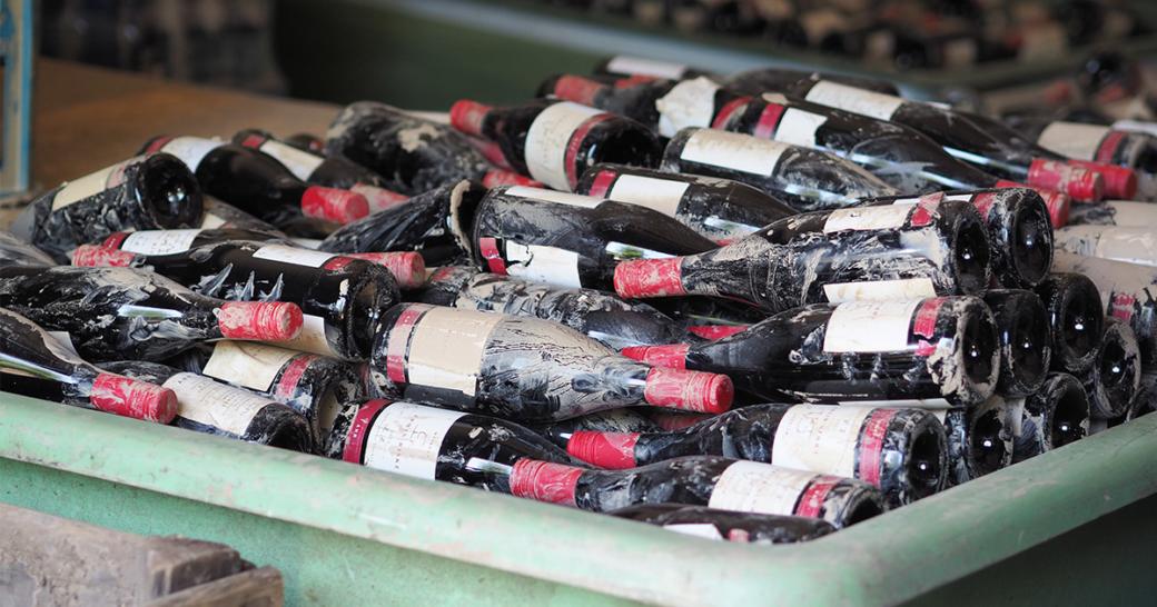 Weingut Riske Hochwasser