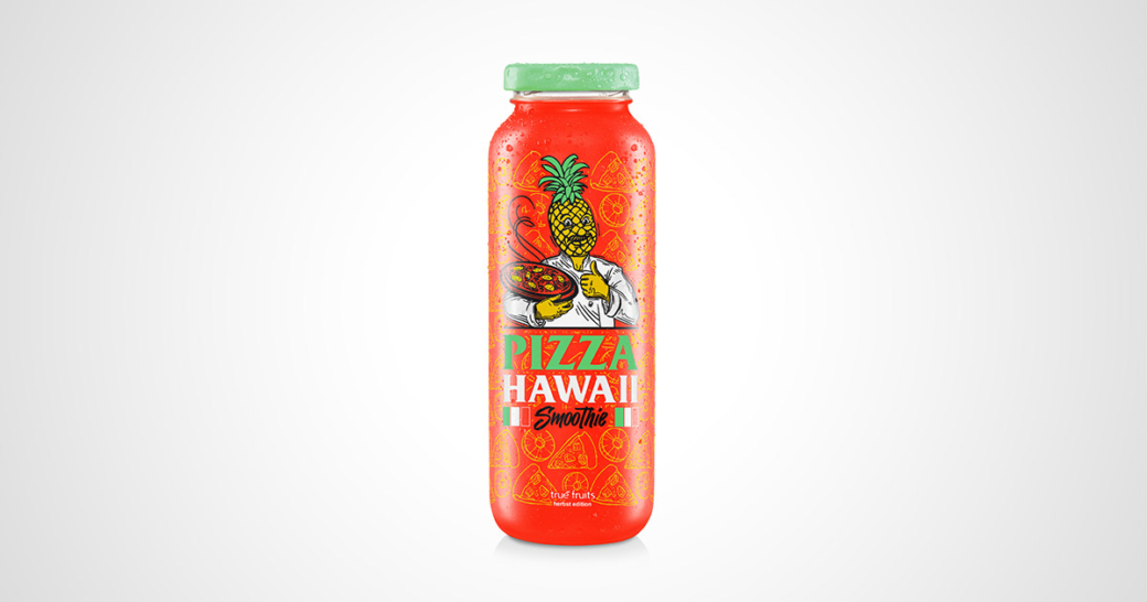 true-fruits Pizza Hawaii