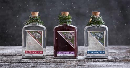 Elephant Gin Weihnachten Teaser