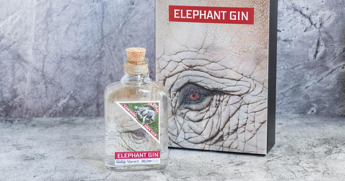 Elephant Gin Wildlife Warrior Edition