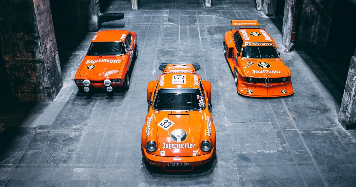 Jägermeister Rennmeister Autos