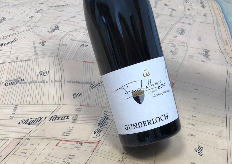 Wingut Gunderloch Fenchelberg Karte