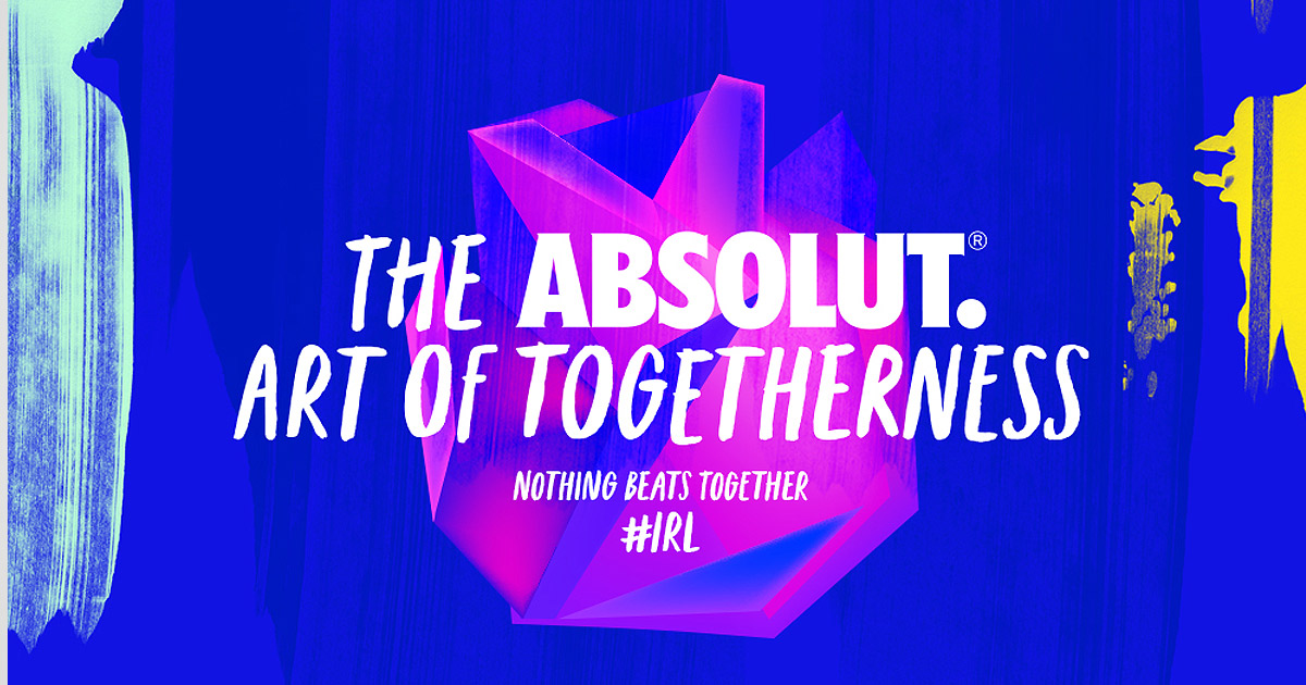 the absolut art of togetherness
