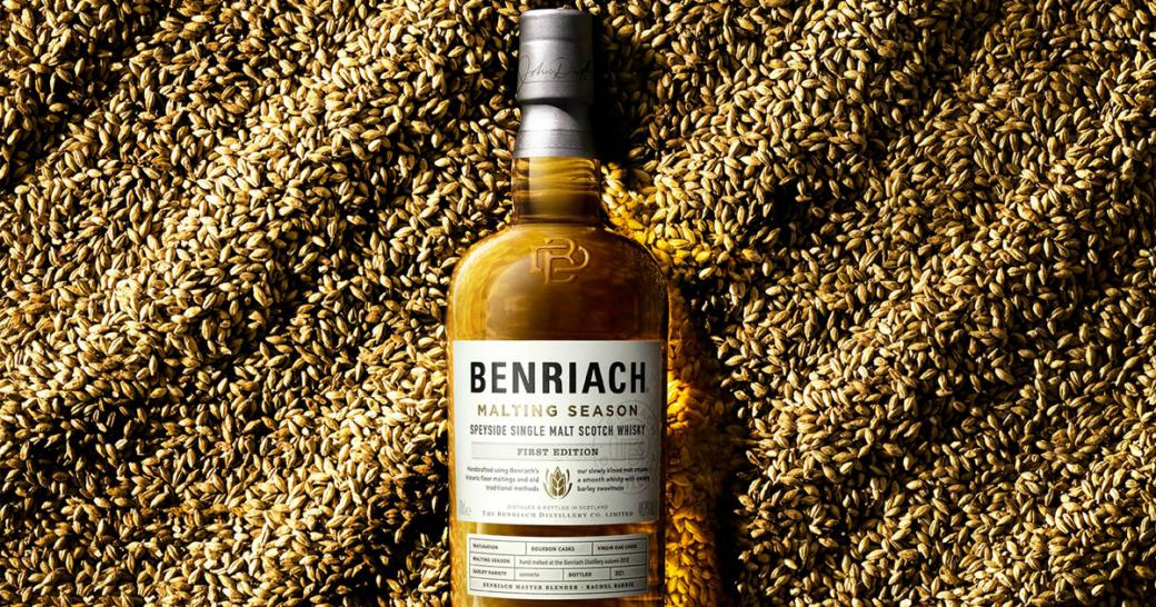 benriach malting season