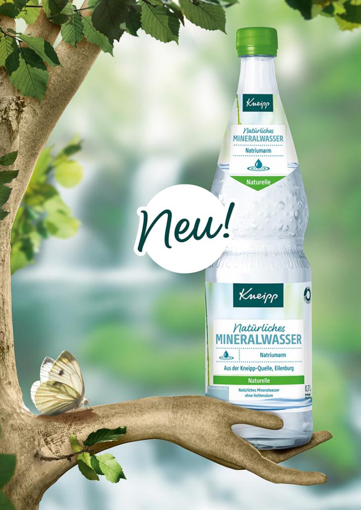 kneipp mineralwasser glasflasche