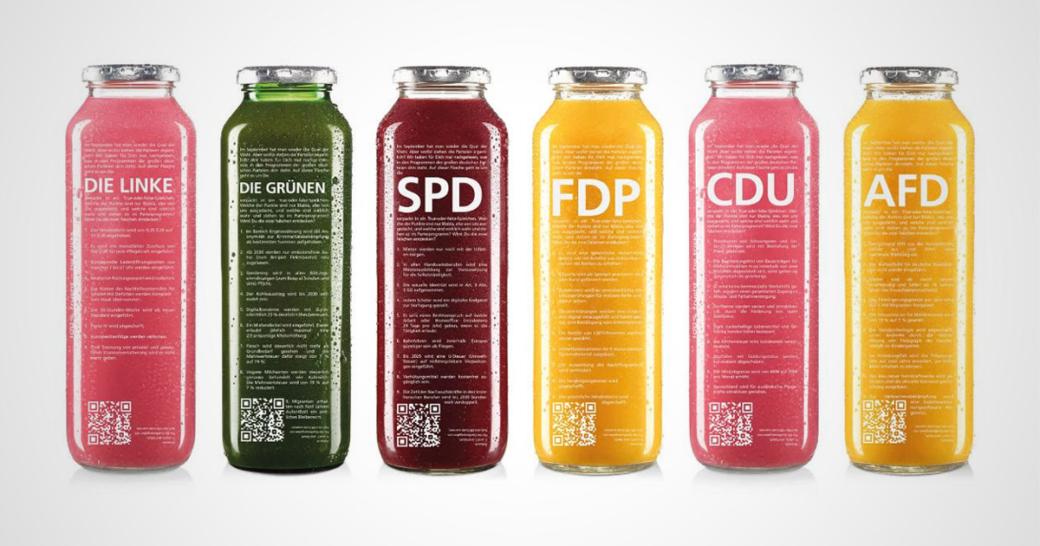 true fruits Bundestagswahl 2021