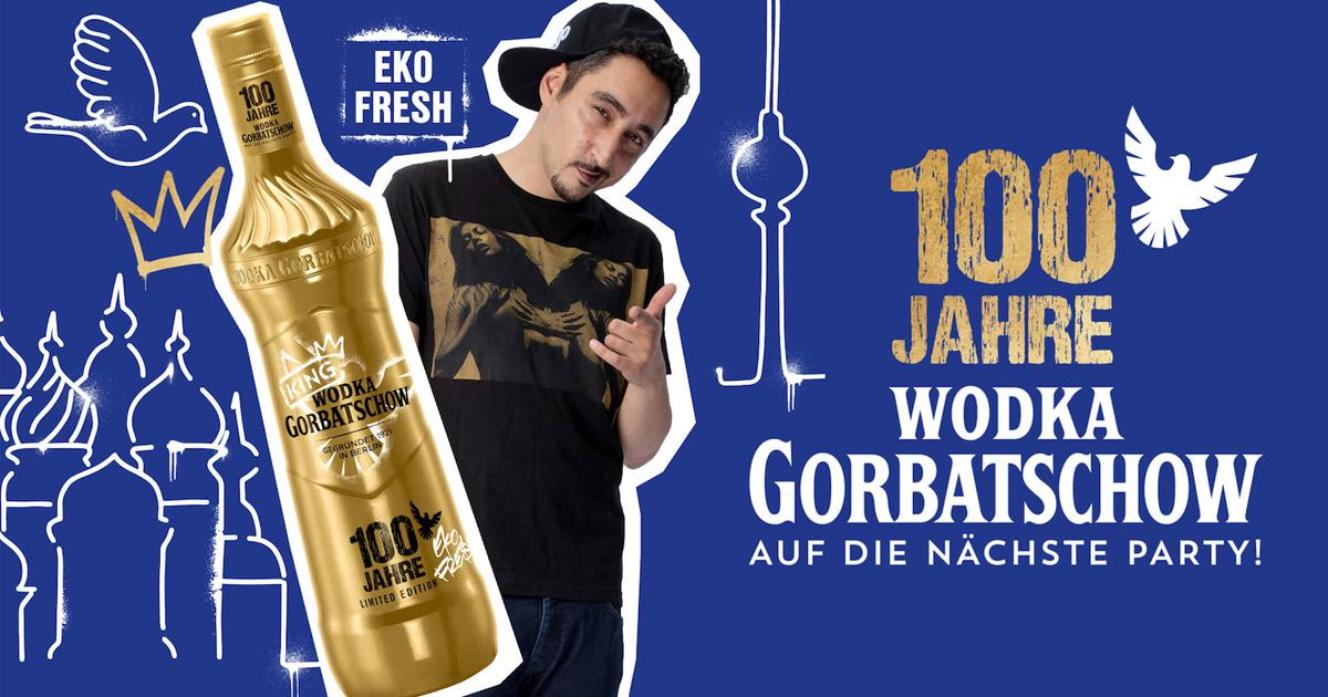 wodka gorbatschow eko fresh
