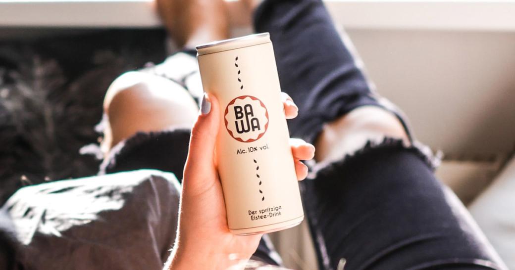 BAWA Eistee-Drink