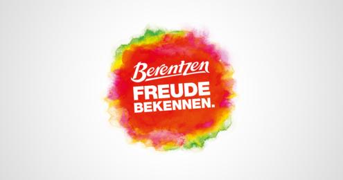 Berentzen Logo Freude schenken