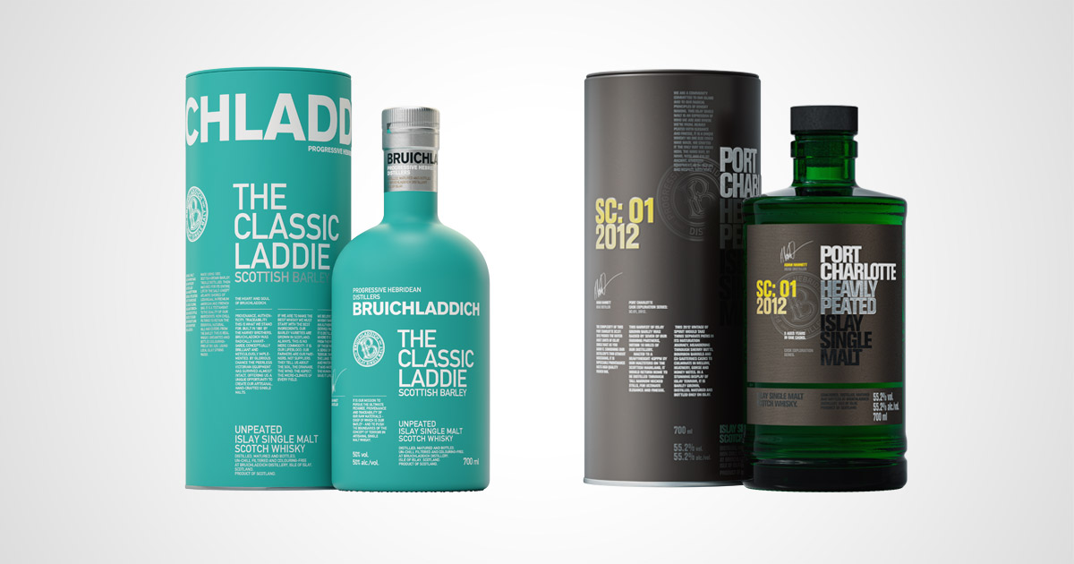 Bruichladdich The Classic Ladie Port Charlotte