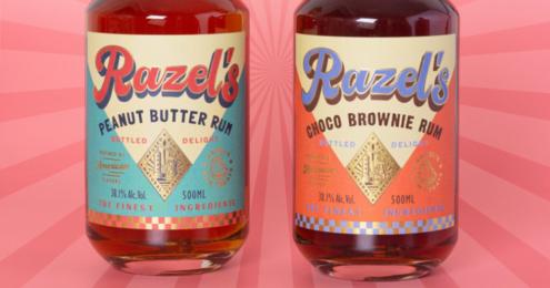 Razels Rum Flaschen