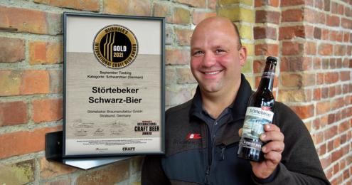 Störtebeker Schwarz-Bier Christoph Puttnies