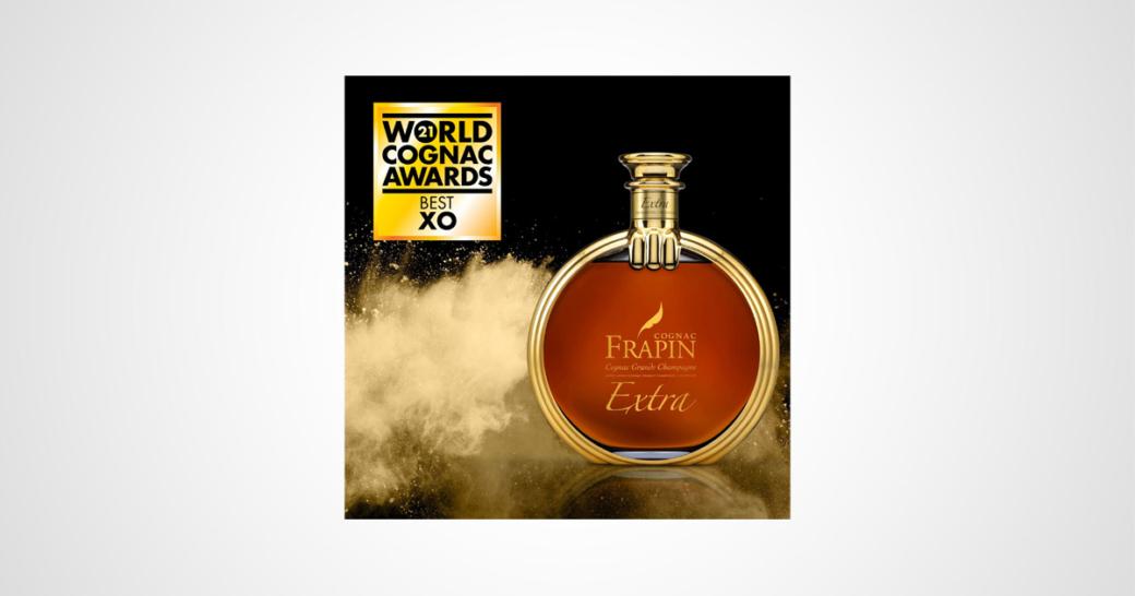 cognac frapin extra auszeichnung