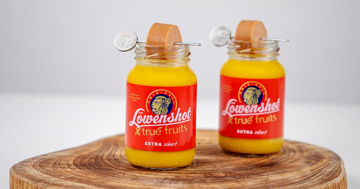 true fruits Löwensenf Shot